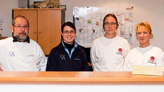 Team der Tiarztpraxis Bliestal
